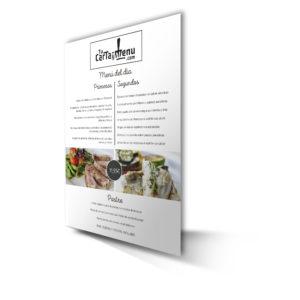 Carta para Restaurantes Mexicanos