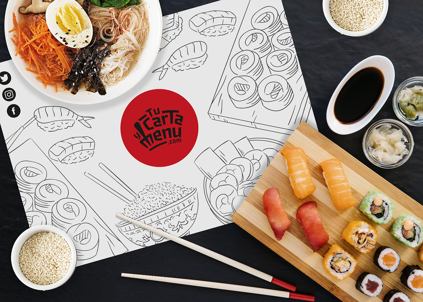 Mantel Sushi